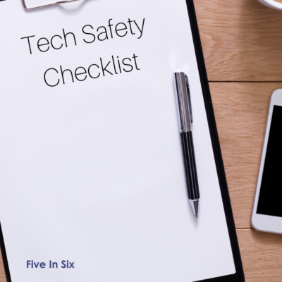 Technology Safety Checklist for Kids & Teens